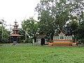 Aliswar Shantiniketan Buddhist Temple at Laksam, Comilla, 19 April 2017 04.jpg