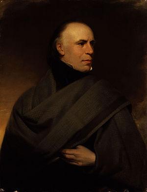 Allan Cunningham (author) - Allan Cunningham, Henry Room, c.1840