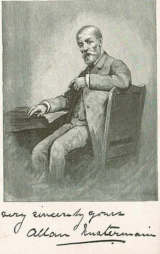 Allan Quatermain - Image: Allan Quatermain