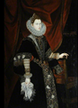 Alonso Sanchez Coello Portrait of Duchess Feria 1563.png