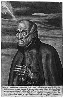 Alphonsus Rodriguez Jesuit lay brother and saint