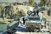 Alpini on patrol in Afghanistan with VTLM 01.jpg