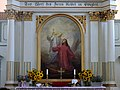 "Altarul - ""Isus pe Muntele Măslinilor"" de Carl Dörschlag (1837-1917).JPG"