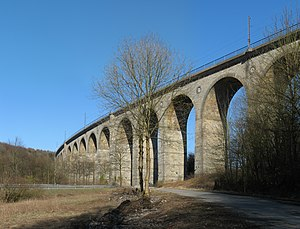 Altenbeken Viaduct - Altenbeken Viaduct.
