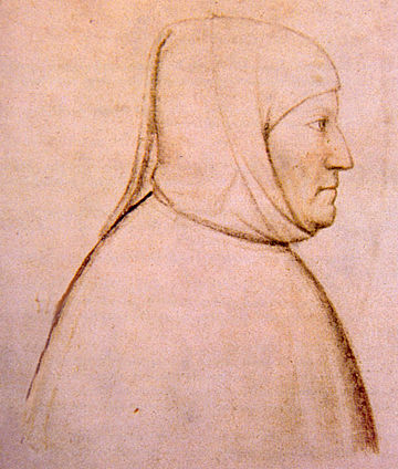 Tuscan poet and literary figure Petrarch Altichiero, ritratto di Francesco Petrarca.jpg