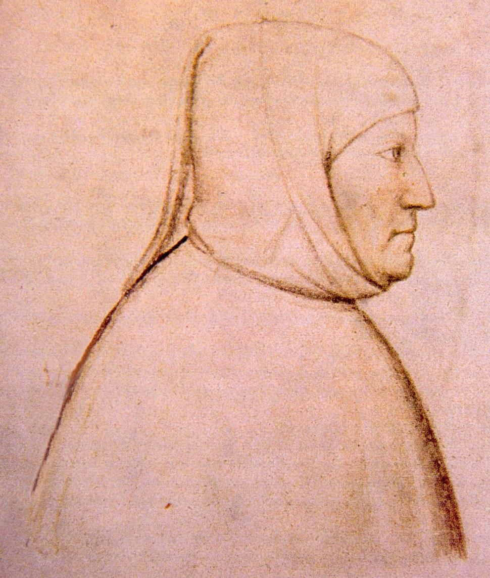Altichiero, ritratto di Francesco Petrarca