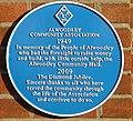 Alwoodley Community Association plaque 2009.jpg