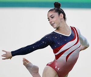 Aly Raisman - Raisman at the 2016 Summer Olympics