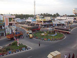 Tiruppur district - Statue of Amaravathy, Dharapuram