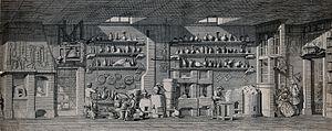 Ambrose Godfrey - Ambrose Godfrey's chemical factory