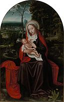 Ambrosius Benson - Rest on the Flight into Egypt - WGA1892.jpg