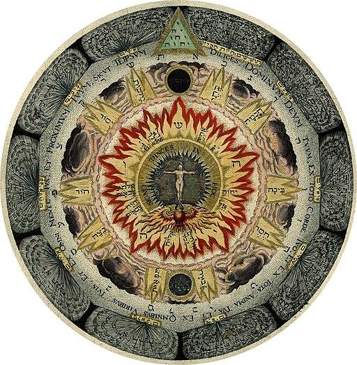 Amphitheatrum sapientiae aeternae - The cosmic rose