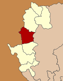Amphoe location in Mae Hong Son Province