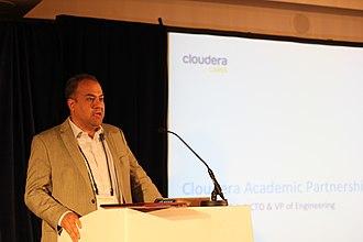 Amr Awadallah - Amr Awadallah during Cloudera Cares, DataKind Meetup on 7 May 2015