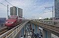 Amsterdam Sloterdijk Thalys PBA 4534 als THA 9352 naar Paris Nord (20821074945).jpg