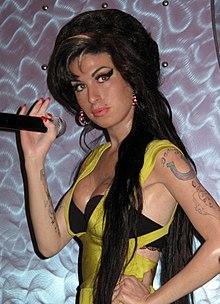 Escultura De Cera De Amy Winehouse