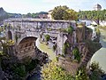 Ancient Bridge over Tiber River, Rome (6681653895).jpg