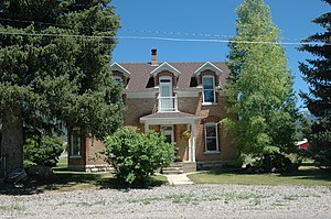 National Register of Historic Places listings in Sanpete County, Utah - Image: Anderson House Fairview Utah