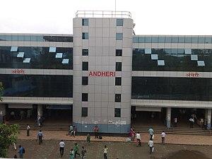 Andheri railway station - Wikipedia