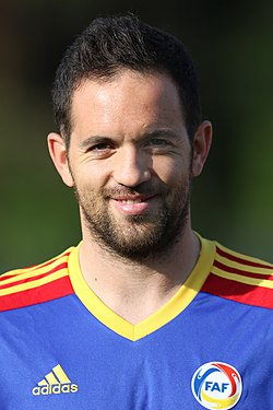 Andorra national football team - Marcio Vieira (001).jpg