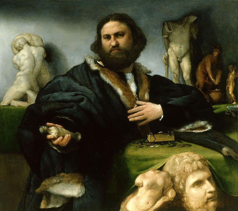 Andrea Odoni (1527); Lorenzo Lotto.JPG