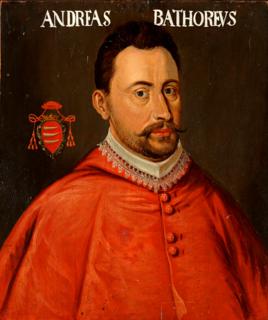 Andrew Báthory Cardinal-deacon of SantAdriano al Foro