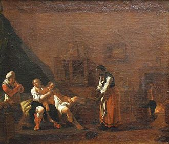 Andries Both - Scene in a Brothel