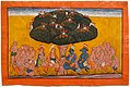 Angada's Despair, North India, Kulu or Bahu, c. 1700-1710, watercolor on paper - Princeton University Art Museum - DSC06985.jpg