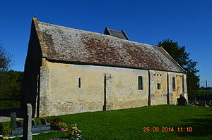 Angoville, Calvados - The Church of Saint Anne