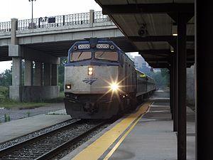 Ann Arbor station - Image: Ann Arbor Amtrak station