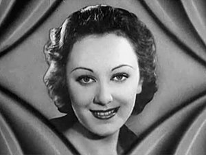 Cropped screenshot of Ann Dvorak from the trai...