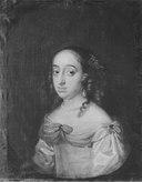 Anna Dorotea, 1640-1713, prinsessa av Holstein-Gottorp, abbedissa i Quedlingburg (Abraham Wuchters) - Nationalmuseum - 16016.tif