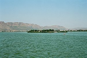 Chahamanas of Shakambhari - The Ana Sagar lake in Ajmer was commissioned by the Chahamana ruler Arnoraja alias Ana