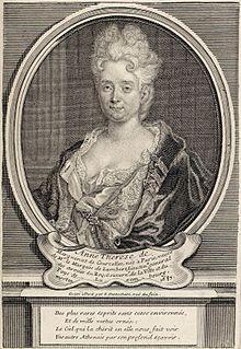 Anne-Thérèse de Marguenat de Courcelles writer from France