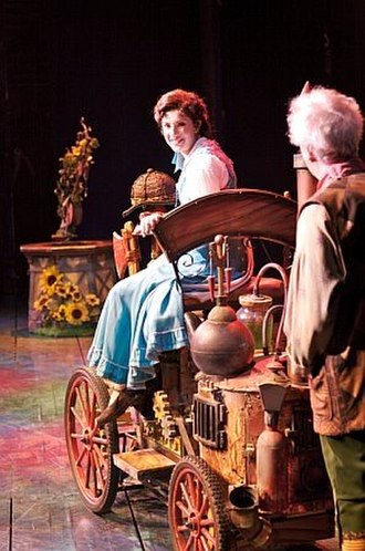 Anneliese van der Pol - van der Pol as Belle in Beauty and the Beast
