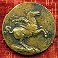 Anonimo, medaglia di pietro bembo, post 1538. verso con pegaso.JPG