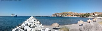 Agios Efstratios - Image: Another view of the harbour of Agios Efstratios