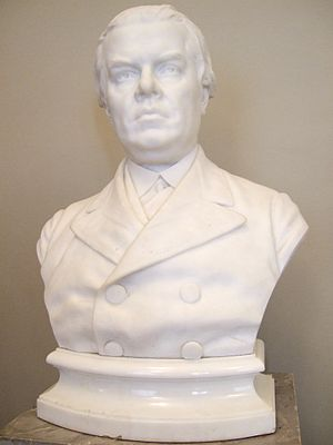 Alexander Polovtsov - Sculpture of Polovtsov by Mark Antokolski