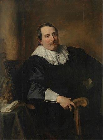 Theodoor Rombouts - Portrait of Theodoor Rombouts by Anthony van Dyck