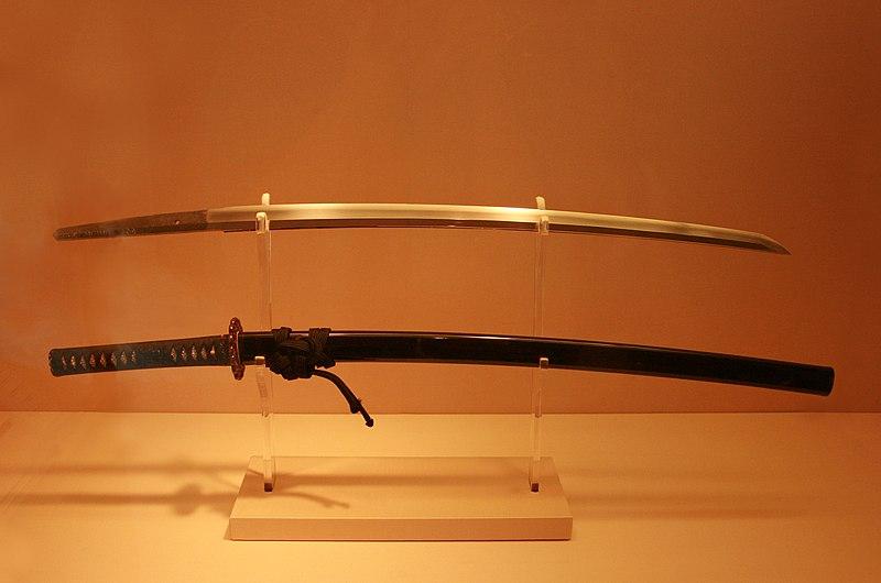 File:Antique Japanese (samurai) katana met museum.jpg