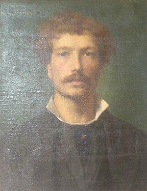 Antonin Carlès - Antonin Carlès' portrait, by Armand Berton