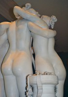 Antonio Canova (1757-1822) - The Three Graces, Woburn Abbey version (1814-1817) front left thighs upward, Victoria and Albert Museum, August 2013 (11059564035).png