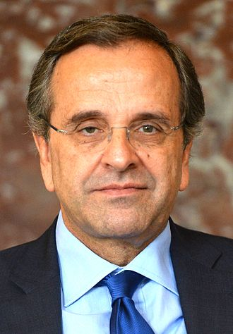1993 Greek legislative election - Image: Antonis Samaras October 2014