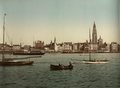 Antwerp across the Scheldt, photochrom.png
