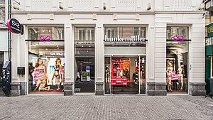 Hunkemöller - Antwerpen store exterior view (2017)