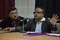 Anupam Basu - Panel Discussion - Collaboration with Academic Institutes for the Growth of Wikimedia Projects in Indian Languages - Bengali Wikipedia 10th Anniversary Celebration - Jadavpur University - Kolkata 2015-01-10 3462.JPG