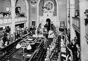 Anzac Day in Queensland - Anzac Day ceremony, Brisbane Synagogue, 1930