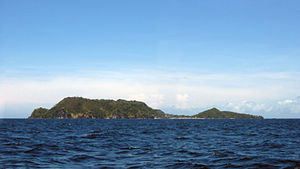 Apo Island - View of Apo Island from the west