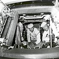 Apollo 11 Crew Conduct Checks in the Command Module - GPN-2002-000030.jpg