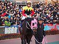 Apollo Kentucky and Hiroyuki Uchida at Oi racecourse (31841332652).jpg
